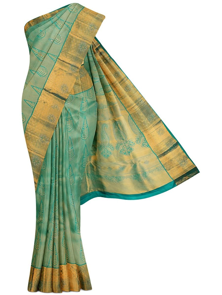 MGB8888959 - Vivaha Wedding Stone Work Silk Saree