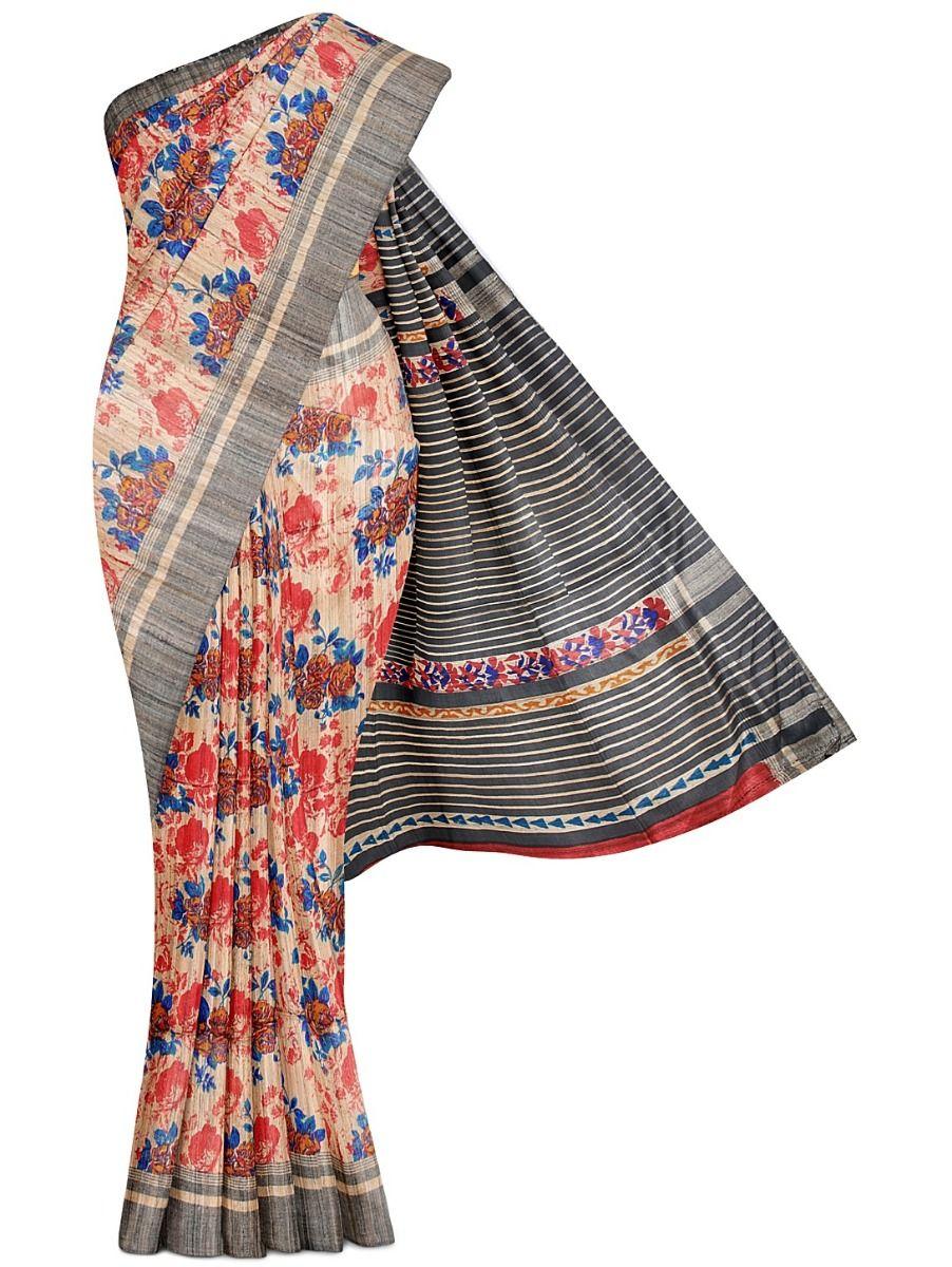 Kathana Exclusive Pure Jute Silk Saree