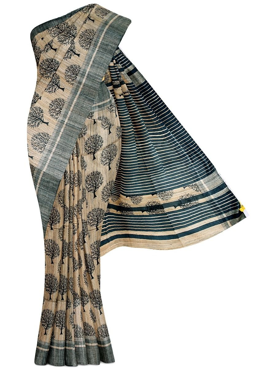 Kathana Exclusive Pure Jute Silk Saree