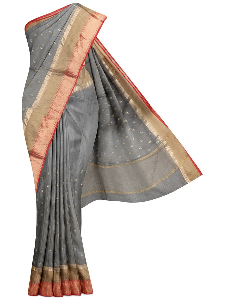 MGU9665826 - Fancy Organca Silk Saree with Readymade Kalamkari Print blouse