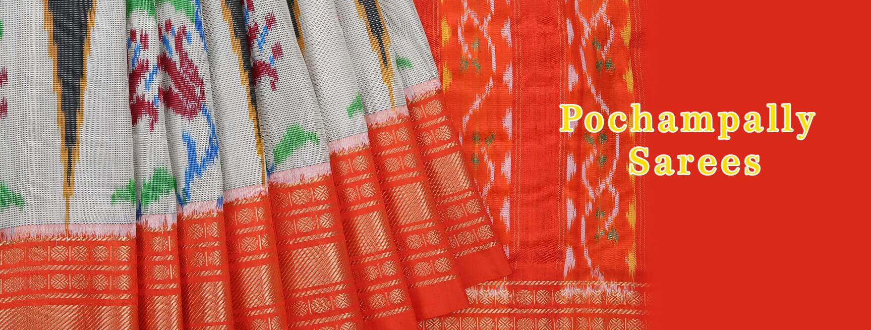 How to make Pochampally sarees