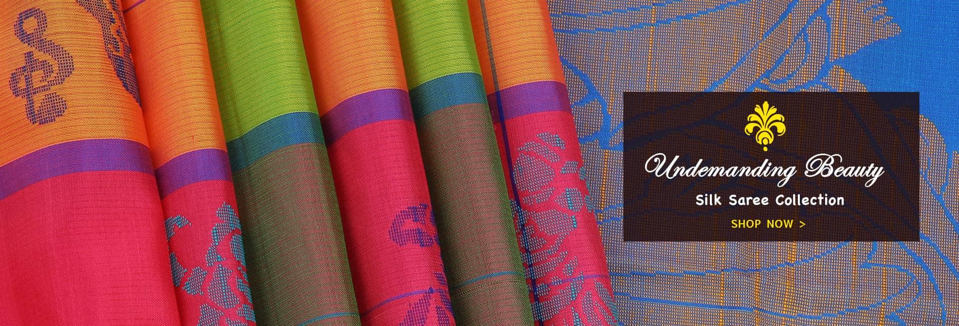 Silk Sarees- Buy Pure Silk and Soft Silk Sarees at The