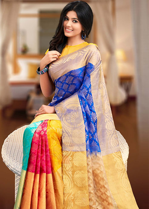 6565ad3ba645 Soft Silk Wedding Sarees View