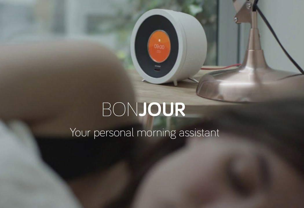 "Say Good Morning to AI-powered Alarm Clock ""Bonjour"""
