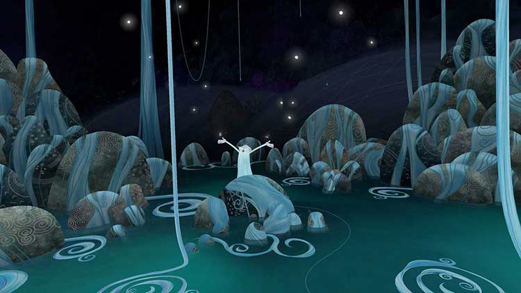 Oscar-nominated hand-drawn movie 'Song of the Sea' reinvented for VR experience