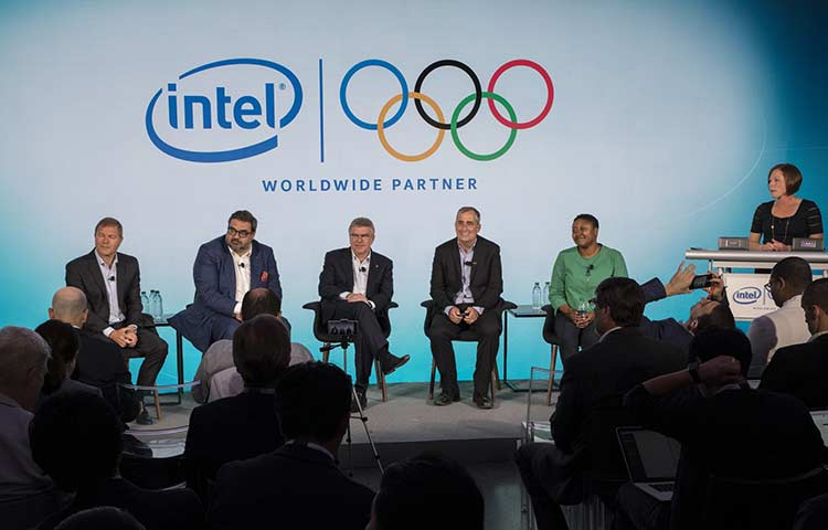 Intel to sponsor the Olympics