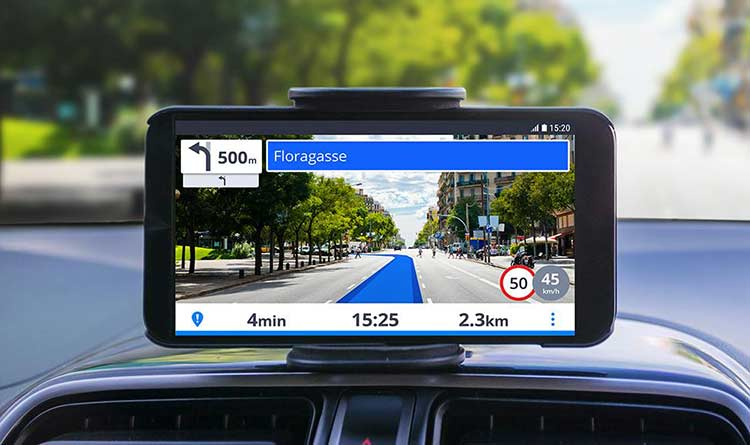 Sygic uses augmented reality in their GPS navigation app
