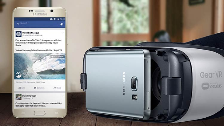 Gear VR user can now use their Facebook account