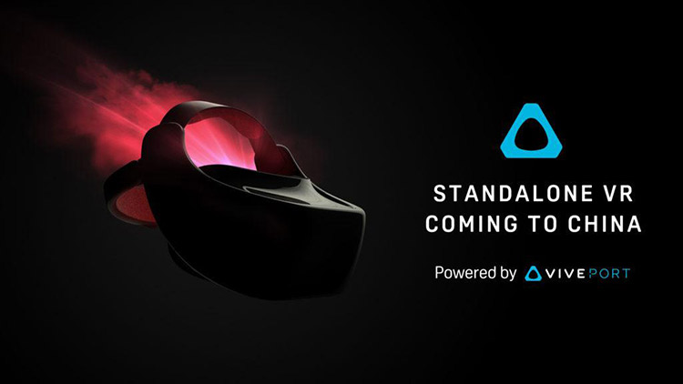 HTC Vive unveils first standalone VR headset