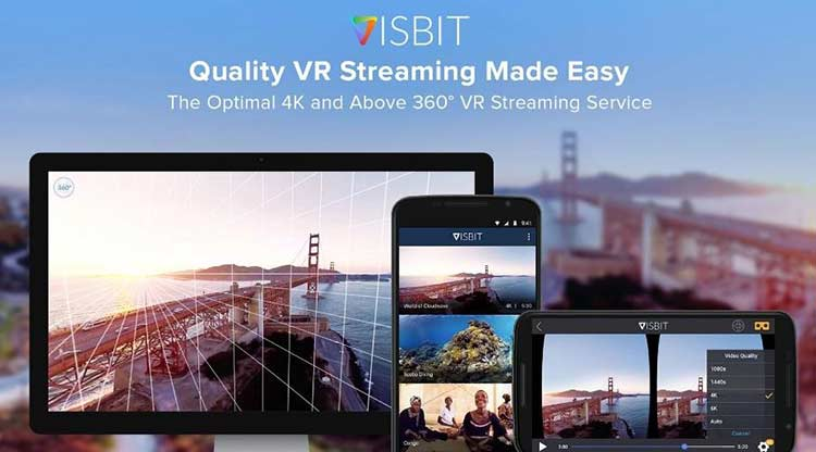 Visbit unveils web based VR player and Unity SDK