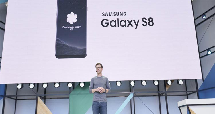 Samsung Galaxy S8 and S8 plus now supports Daydream VR