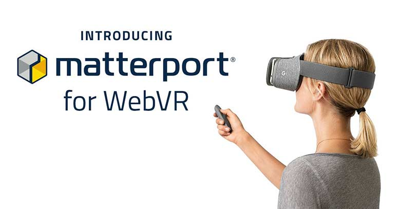 Matterport unveils WebVR support for VR app