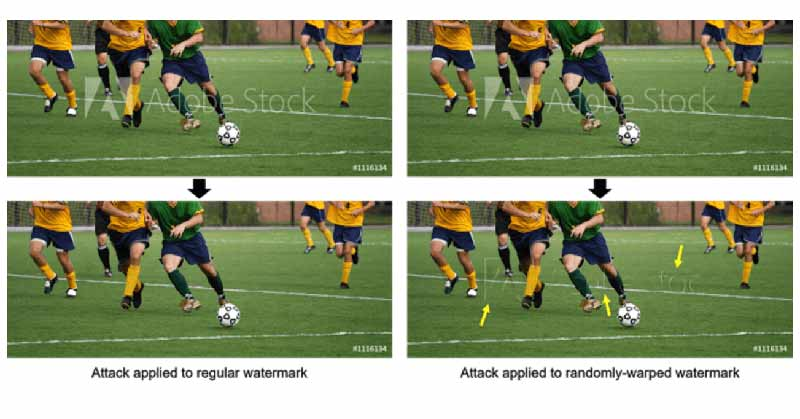 Google develops an algorithm to automatically removing watermarks from stock photos