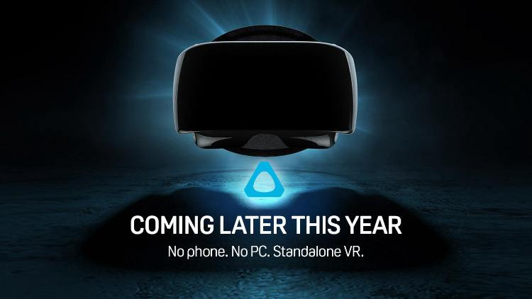 HTC's new standalone headset to be known as VIVE Focus