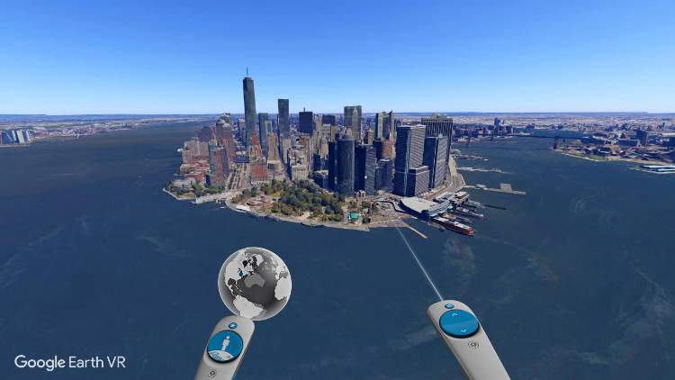 Google adds Street view library in Google Earth VR