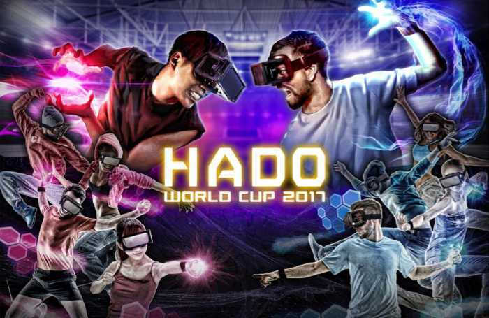 The New AR Game Sensation HADO To Host the HADO WORLD CUP 2017