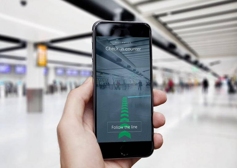 Gatwick airport to use augmented reality to passengers in catching their flight