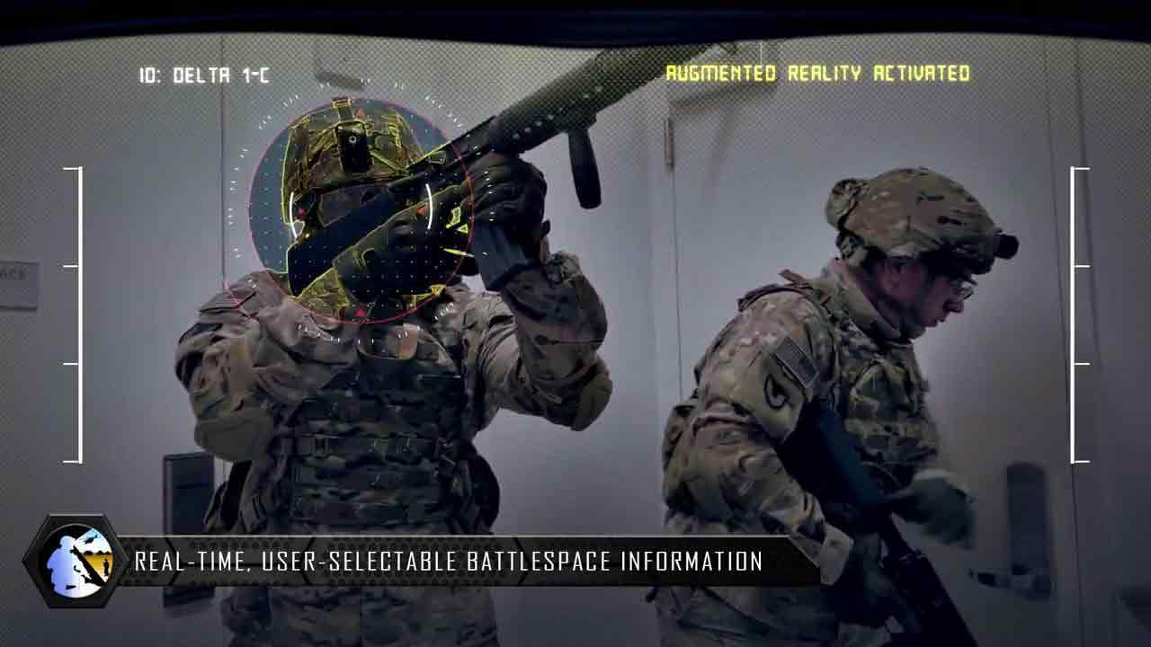 Pentagon to help soldiers see better by using augmented reality headset