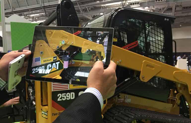 Caterpillar to use augmented reality for sales operation