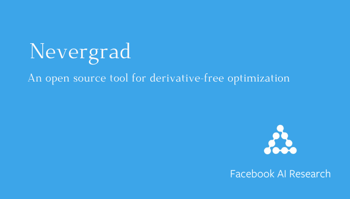 Nevergrad : A Python toolbox for performing gradient-free optimization