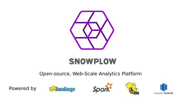 Snowplow - The Open-Source, Web-Scale Analytics Platform Powered By Hadoop, Spark, Hive And Redshift.
