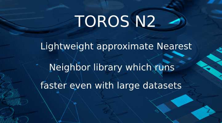 An approximate Nearest Neighbor library which even when taken into consideration with large datasets runs faster: TOROS N2
