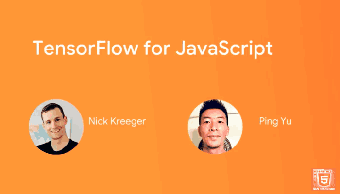 An Introduction to TensorFlow.js with Nick Kreeger.