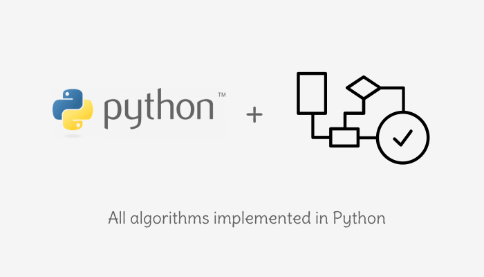 All Algorithms implemented in Python.