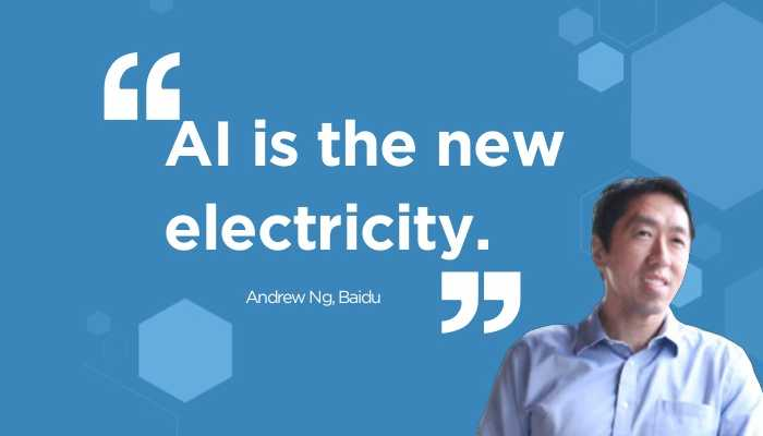 Andrew Ng: An Influential leader in artificial intelligence.