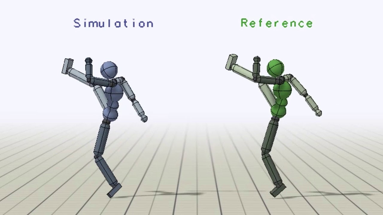 DeepMimic: Example-Guided Deep RL of Physics-Based Character Skills