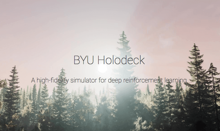 Holodeck - High Fidelity Simulator for Reinforcement Learning and Robotics Research.