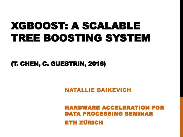 XGBoost: A Scalable Tree Boosting System.