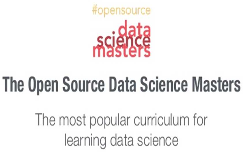 The Open Source Data Science Masters: A curriculum for Data Scientists