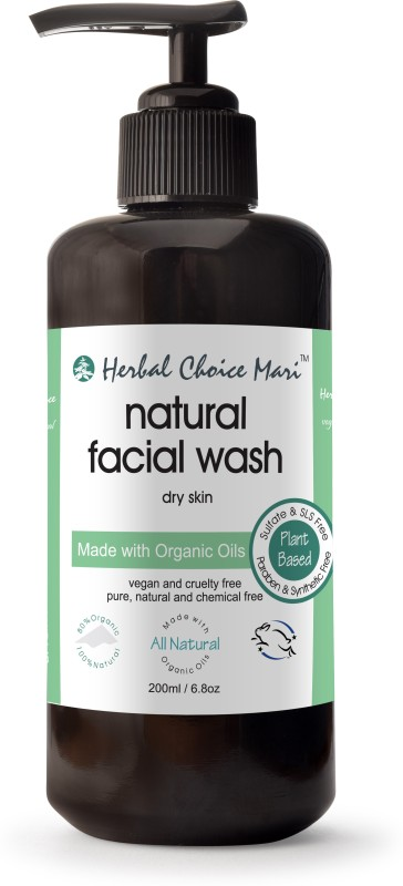 Herbal Choice Mari Organic Facial Cleanser, Dry Skin, 6.8 Oz CRL Eye and Skin Wash