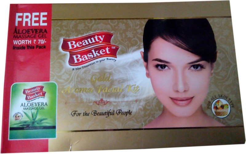 Beauty Basket Aroma Gold Facial Kit 90 g