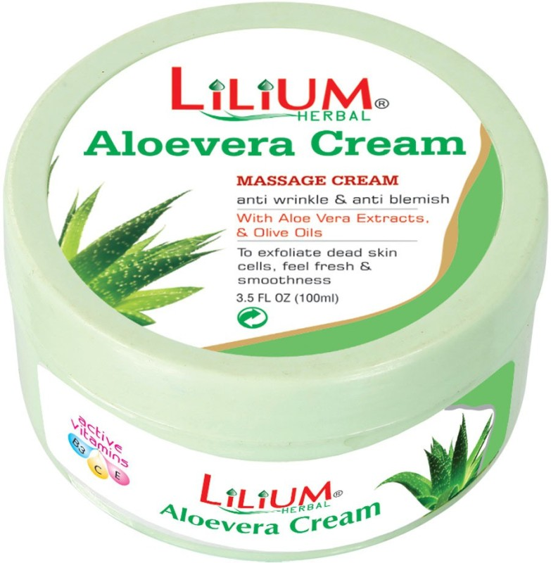 LILIUM Aloe Vera Massage Cream 100ml(100 ml)