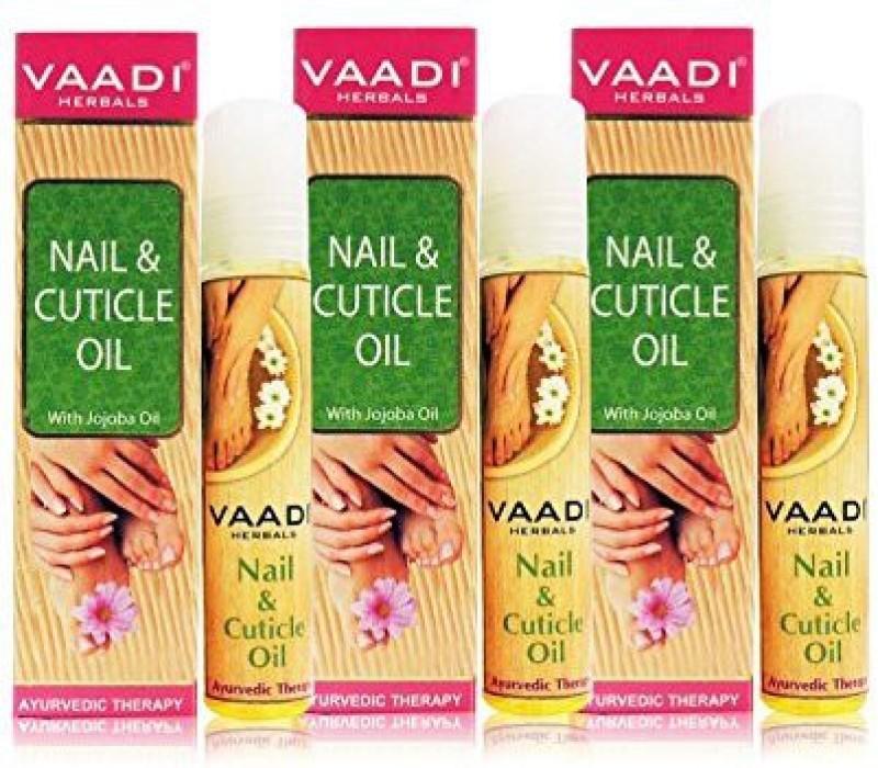 Vaadi Herbals Nail and Cuticle Oil with Jojoba Oil, Replenishing(10 ...