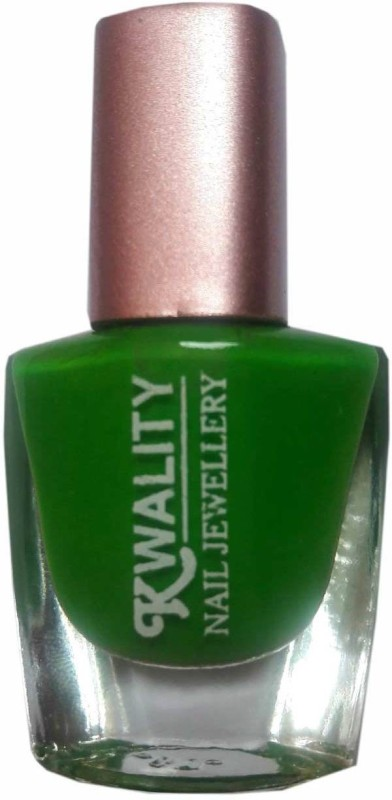 Kwality Nail Polish Green(10 ml) | Fabbon