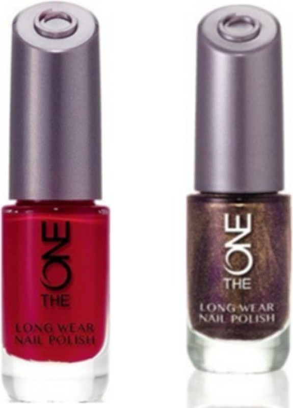 Oriflame Sweden The ONE Long Wear Nail Polish London Red, Amethyst ...