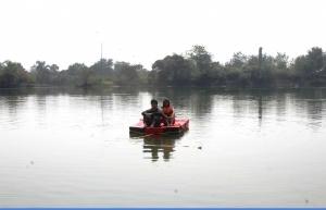 Lakeside camping in Vasundri
