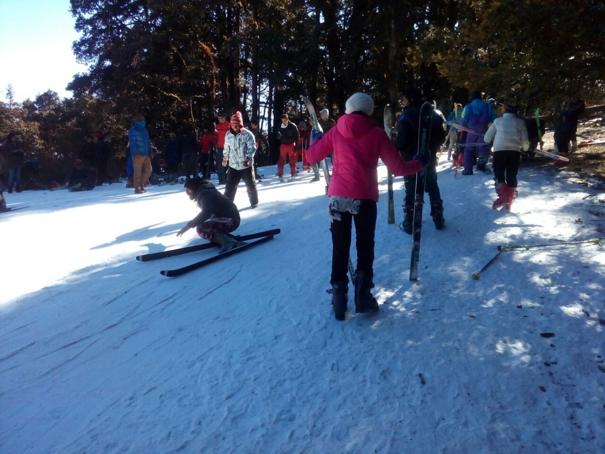 http://www.thegreatnext.com/Auli Skiing Basic Course Himalayas Nanda Devi The Great Next