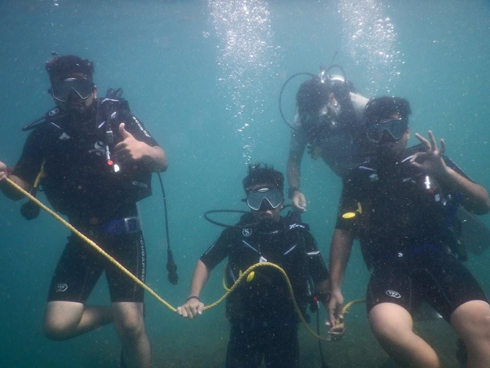 http://m.thegreatnext.com/PADI Open Water Diver Course OWD Goa Fish Scuba Diving Adventure The Great Next