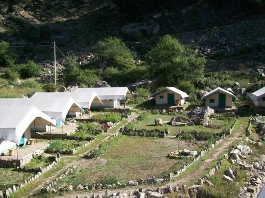Camping in Sangla (1n2d)