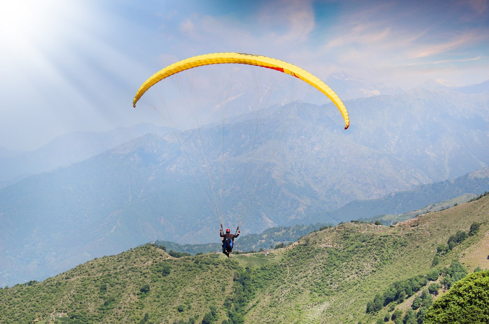 Trekking and Paragliding in Bir Biling