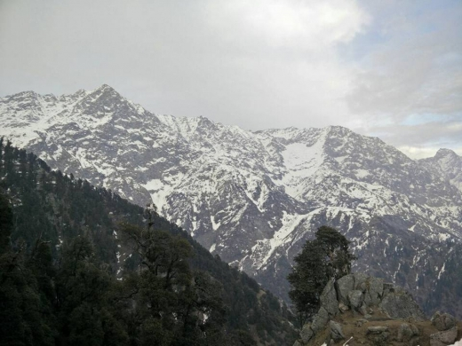 Snowline trek to Triund and Laka Got