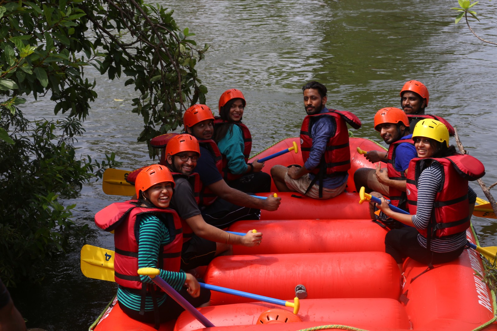 Kolad Rafting+AC Swiss Tent (weekend)