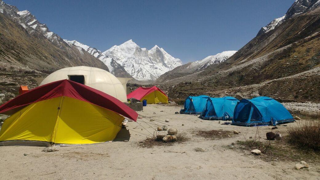 http://www.thegreatnext.com/Trekking Gaumukh Tapovan Uttarakhand Himalayas Adventure Travel The Great Next