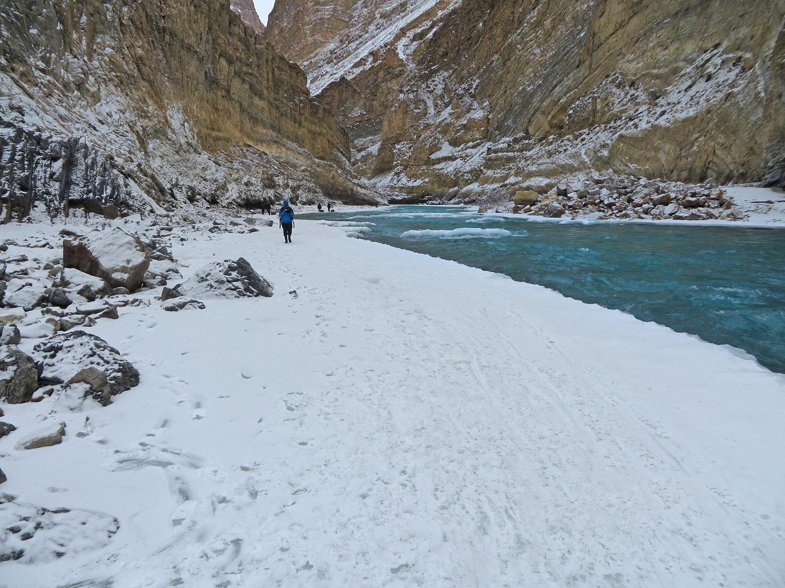 http://www.thegreatnext.com/Trekking Frozen River Leh Adventure