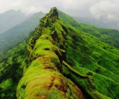 Monsoon Trek to Torna (ex-Pune)
