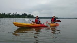 Day kayaking at Port Blair